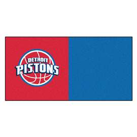 NBA - Detroit Pistons  Team Carpet Tiles Rug, Carpet, Mats
