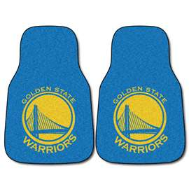 NBA - Golden State Warriors  2-pc Carpet Car Mat Set