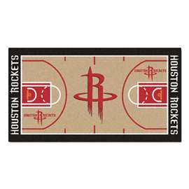 NBA - Houston Rockets  NBA Court Large Runner Mat, Carpet, Rug