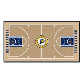 NBA - Indiana Pacers  NBA Court Large Runner Mat, Carpet, Rug