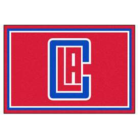 NBA - Los Angeles Clippers  5x8 Rug Rug Carpet Mats