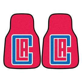 NBA - Los Angeles Clippers  2-pc Carpet Car Mat Set