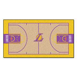 NBA - Los Angeles Lakers  NBA Court Large Runner Mat, Carpet, Rug