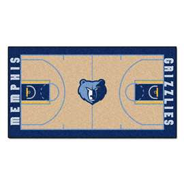 NBA - Memphis Grizzlies  NBA Court Large Runner Mat, Carpet, Rug