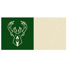 NBA - Milwaukee Bucks  Team Carpet Tiles Rug, Carpet, Mats
