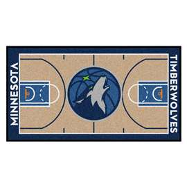 NBA - Minnesota Timberwolves  NBA Court Large Runner Mat, Carpet, Rug