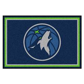 NBA - Minnesota Timberwolves  5x8 Rug Rug Carpet Mats