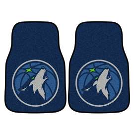 NBA - Minnesota Timberwolves  2-pc Carpet Car Mat Set