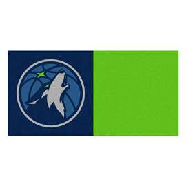 NBA - Minnesota Timberwolves  Team Carpet Tiles Rug, Carpet, Mats