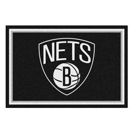 NBA - Brooklyn Nets  5x8 Rug Rug Carpet Mats