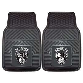NBA - Brooklyn Nets  2-pc Vinyl Car Mat Set