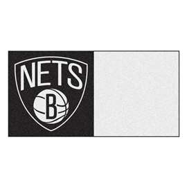 NBA - Brooklyn Nets  Team Carpet Tiles Rug, Carpet, Mats