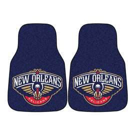 NBA - New Orleans Pelicans  2-pc Carpet Car Mat Set