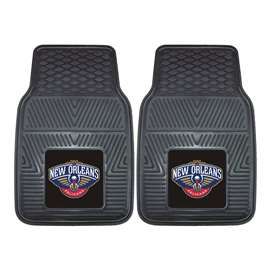 NBA - New Orleans Pelicans  2-pc Vinyl Car Mat Set