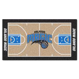 NBA - Orlando Magic  NBA Court Large Runner Mat, Carpet, Rug
