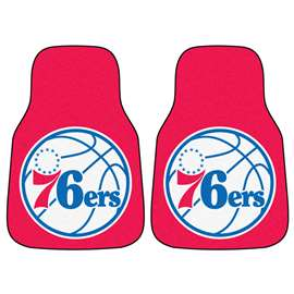 NBA - Philadelphia 76ers  2-pc Carpet Car Mat Set