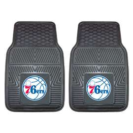 NBA - Philadelphia 76ers  2-pc Vinyl Car Mat Set