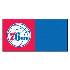 NBA - Philadelphia 76ers  Team Carpet Tiles Rug, Carpet, Mats