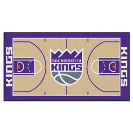 NBA - Sacramento Kings  NBA Court Large Runner Mat, Carpet, Rug