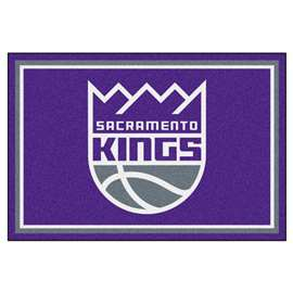 NBA - Sacramento Kings  5x8 Rug Rug Carpet Mats