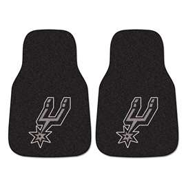 NBA - San Antonio Spurs  2-pc Carpet Car Mat Set