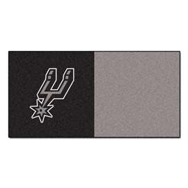 NBA - San Antonio Spurs  Team Carpet Tiles Rug, Carpet, Mats