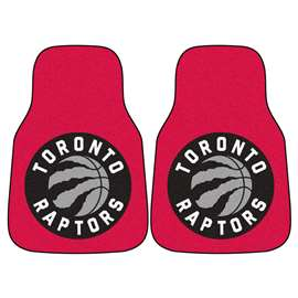 NBA - Toronto Raptors  2-pc Carpet Car Mat Set