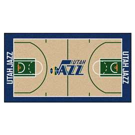 NBA - Utah Jazz  NBA Court Large Runner Mat, Carpet, Rug