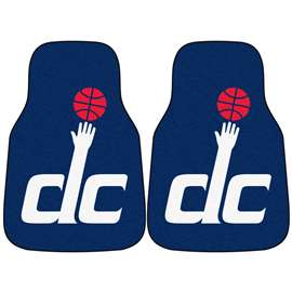 NBA - Washington Wizards  2-pc Carpet Car Mat Set