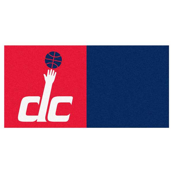 NBA - Washington Wizards  Team Carpet Tiles Rug, Carpet, Mats