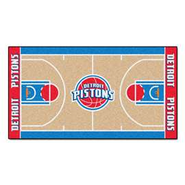 NBA - Detroit Pistons  NBA Court Runner Mat, Carpet, Rug