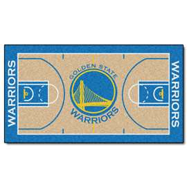 NBA - Golden State Warriors  NBA Court Runner Mat, Carpet, Rug