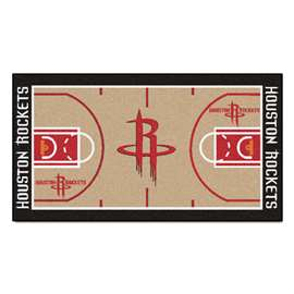 NBA - Houston Rockets  NBA Court Runner Mat, Carpet, Rug