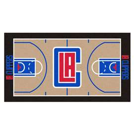 NBA - Los Angeles Clippers  NBA Court Runner Mat, Carpet, Rug