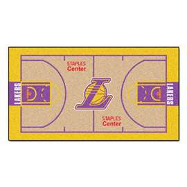 NBA - Los Angeles Lakers  NBA Court Runner Mat, Carpet, Rug