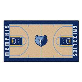 NBA - Memphis Grizzlies  NBA Court Runner Mat, Carpet, Rug