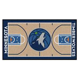 NBA - Minnesota Timberwolves  NBA Court Runner Mat, Carpet, Rug