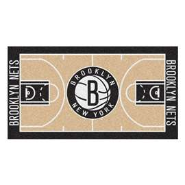NBA - Brooklyn Nets  NBA Court Runner Mat, Carpet, Rug