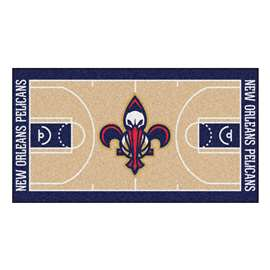 NBA - New Orleans Pelicans  NBA Court Runner Mat, Carpet, Rug
