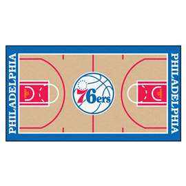 NBA - Philadelphia 76ers  NBA Court Runner Mat, Carpet, Rug