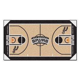 NBA - San Antonio Spurs  NBA Court Runner Mat, Carpet, Rug