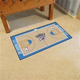 NBA - Oklahoma City Thunder  NBA Court Runner Mat, Carpet, Rug