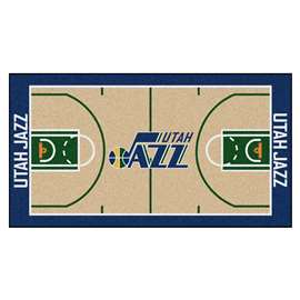 NBA - Utah Jazz  NBA Court Runner Mat, Carpet, Rug