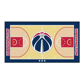 NBA - Washington Wizards  NBA Court Runner Mat, Carpet, Rug