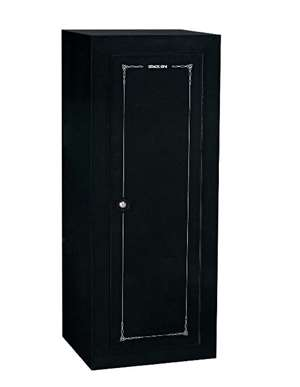 Stack-On GCB-18C-DS 18 Gun Convertible Steel Security Cabinet, Black