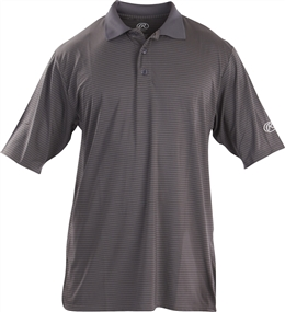 Rawlings Sideline Adult Short Sleeve Polo Shirt - Graphite