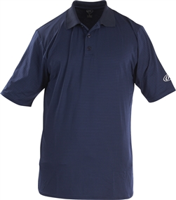 Rawlings Sideline Adult Short Sleeve Polo Shirt - Navy