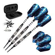 Viper Astro Tungsten Soft Tip Darts Black Rings 16 Grams