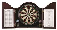 Viper Cambridge Mahogany Dartboard Cabinet