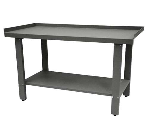 Homak H2PRO Series 59-Inch Industrial Steel Workbench, Gray